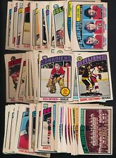 1976-77 OPC O-Pee-Chee Complete your set #132- 264 (see list)