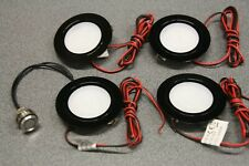 4 x Campervan 12v Recessed Spot Lights & Free Mini Touch Dimmer/Switch,Motorhome