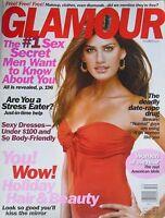 YAMILA DIAZ  December 2002 GLAMOUR Magazine