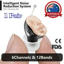 Mini CIC Digital Invisible Hearing Aid In the Ear Adjustable Sound Amplifier AU