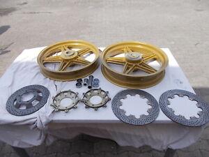 Bimota SB 3 orig. Räder mit Bremsscheiben Magnesium