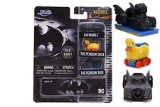 "Batman Batmobile Penguin Duck & Ride Hollywood Rides NANO 1.65"" Jada Toys 31616"