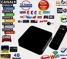 Décodeur Canal PRO 4K Wifi TV Box Android SANS ABONNEMENT SANS PARABOLE
