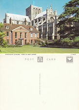 1970's HOME OF MARY SUMNER WINCHESTER HAMPSHIRE UNUSED COLOUR POSTCARD