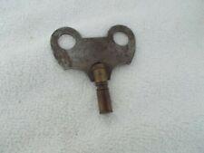 """Vintage Wind Up Clock Key: 2"""" Wide 2"""" Long Brass & Steel"""