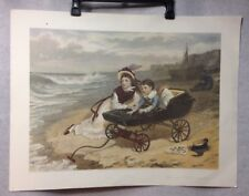 1881, WHAT ARE THE WILD WAVES SAYING (1985 Ariel Press U.K. Print) Geo H Every