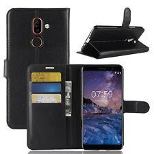 Nokia 7 Plus Funda para móvil Funda flip libro Plegable Funda Estuche ESTUCHE