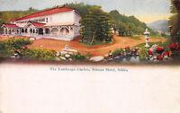 The Landscape Garden, Kanaya, Hotel, Nikko, Japan, Early Postcard, Used