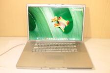 """Apple Mac Book Pro 17"""" Laptop- MB166LL/A (Feb 2008) 2.5GHz 250GB HD 4GB RAM"""