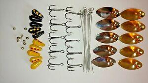 1/8oz Spinner Starter Kit  Tackle maker, craft Lure Making makes 10 spinners