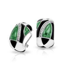Belle Etoile Tango Emerald Earrings NWT