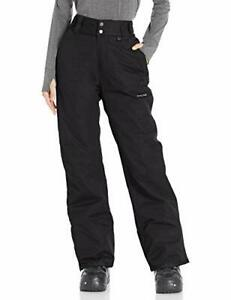 Arctix Women's Insulated Snow Pants Black Small/Regular