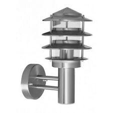 APPLIQUE MONTANTE LAMPE INOX MURALE DESIGN ACIER INOXYDABLE JARDIN EXTERIEUR 446