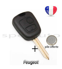 plip coque clé Peugeot Expert Partner 2 boutons + pile