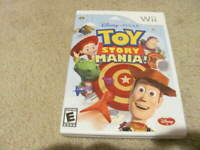 Toy Story Mania! (Nintendo Wii, 2009) Tested And Complete!