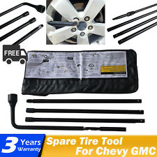 Spare Tire Jack Handle Lug Nut TOOL KIT OEM 20782708 For GMC Chevrolet Cadillac