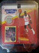 Vintage Michael Jordan NBA Chicago Bulls Basketball 1991 Starting Lineup Figure