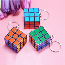 Wholesale Magic Cube Keyring Children Kids Educational Toy Key Chain Ring Gifts