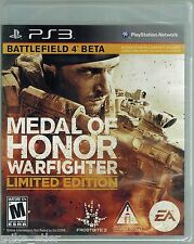 Medal of Honor: Warfighter LE (Sony Playstation 3, 2012) Factory Sealed