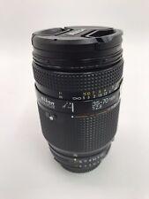 Nikon AF Nikkor 35-70mm F1:2.8 Lens Made in Japan with Lens Caps - For Parts NW