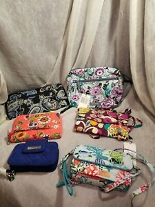 VERA BRADLEY LOT OF 6 VARIOUS ITEMS NEW AND NEW WITHOUT TAGS PLEASE READ