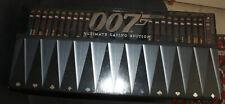 Coffret 42 DVD + Pokerset, James Bond 007 Ultimate Casino Edition ** AS NEW **