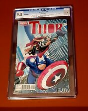 Thor #8 Limited Variant CGC 9.8 2015 Jason Aaron. Jane Foster Revealed as Thor