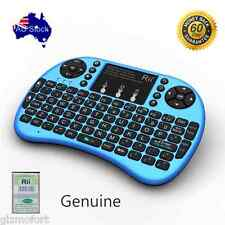 Genuine BLUE Rii i8 + mini Keyboard with touchpad for smart TV PC box