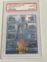 1998 TOPPS CHROME KEN GRIFFEY JR. CLOUT NINE INSERT #C8 PSA GEM MINT 10 (DR)