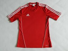 ADIDAS RED FOOTBALL TRAINING SHIRT JERSEY  ,MENS S