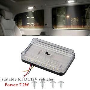 DC 12V Universal Car 36 LED Ceiling Light Car Autos Reading RV Roof Dome Lamp