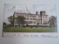 Vintage Postcard Hotel Warwick Newport News Virginia Franked+Stamped 1906 §A251