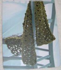 Women's Lacy Scarf ~ D.K Crochet Pattern ~ Easy Design