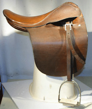 "HORSE SADDLE 17"" ALL PURPOSE MADE IN ENGLAND"