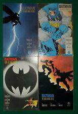 BATMAN: THE DARK KNIGHT RETURNS 1 2 3 4 FULL RUN LOT Frank Miller Mid grade read