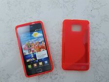 SAMSUNG I9100 GALAXY S2 Schutz Hüllen SILIKON CASE Handy Tasche Etui Cover pink