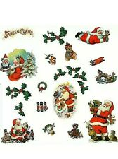 RoomMates Santa Holiday Wall Decals Christmas Décor Peel Stick Removable 22pc