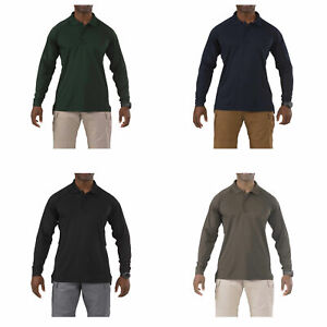 5.11 Tactical Performance Long-Sleeve Polo - Jersey Knit, Style 72049, XS-3XL