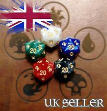 5pcs D20 Dice Die MTG RPG DND ROLE PLAY - UK SELLER