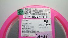 RACAM CTCRC2512JK-0751R  RESISTOR SMD 1W 51 Ohm 5% 2512 **NEW** Qty 50