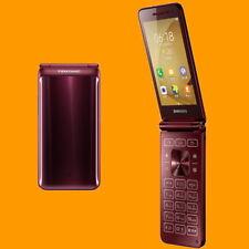 Samsung Galaxy Folder2 SM-G1650 Burgundy 8MP Dual SIM 4G Android Flip Smartphone