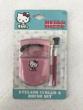Hello Kitty Eyelash Curler And Brush Set NIB