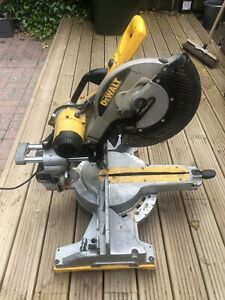 DeWalt Dw718 sliding cross cut mitre saw