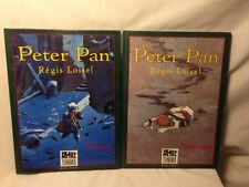 Heavy Metal Peter Pan by Regis Loisel Lot of 2 HC Book 1 & 2 London & Neverland