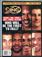 The Ring Boxing Magazine July 1998 Holyfield De La Hoya EX 060716jhe