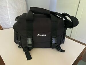 Original CANON EOS CAMERA SHOULDER BAG, BLACK PADDED (lightly used, no tags)