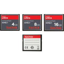 SanDisk 4GB 8GB 16GB Compact Flash CF 30Mb/s Ultra CF Memory Card Genuine New