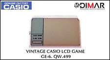 "Vintage Casio LCD Game "" GE-6 "", QW.499"