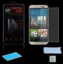 2x Cristal protector para Htc One M9 pantalla VERRE DE PROTECTION