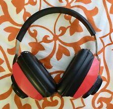 Silencio Rbw-71 Gun Muffler Hearing Protection Headphone Foam Cushion Muffs Red